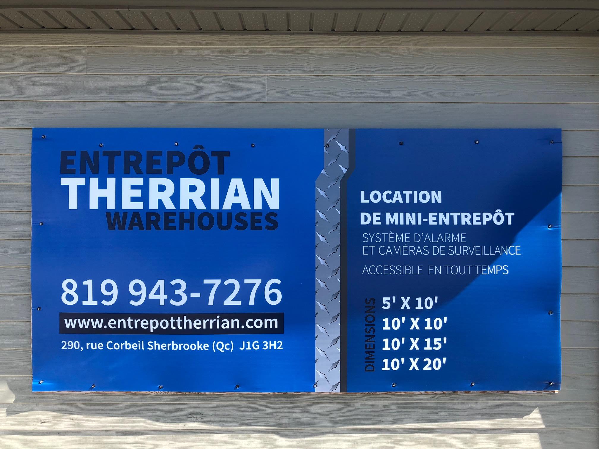 Entrepôt Therrian warehouse